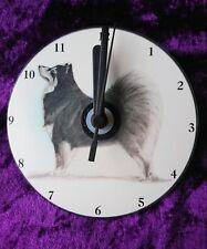 Finnish Lapphund CD Clock by Curiosity Crafts