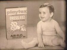 16mm 1950s Television Commercial TV film fashion diaper babies Dress-Eez Fetish