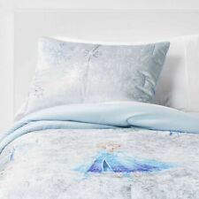 "Frozen II ""Fearless Journey"" Crushed Velvet  Blue Standard Pillow Sham"