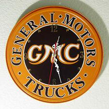 Gmc Sign Wall Clock, 11-3/4'' Diameter - New