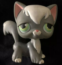 Authentic Littlest Pet Shop lps angora longhair cat kitty no number very rare