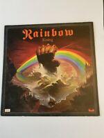 LOT: 547 RAINBOW RISING 1976 FIRST PRESSING ALBUM LP No 2490 137 B