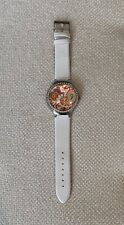 Guess Ladies Watch Psychedelic Face White Strap Never Worn