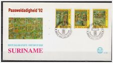 Surinam / Suriname 1992 FDC 153 Pasen easter ostern paques