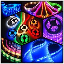 5m RGB LED STRIP E BAND LEISTE STREIFEN LICHTKETTE LICHT LICHTER TRAFO Netzteil