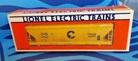 NOS Lionel Train O & 027 Gauge 6-17101 Cheeise System ACF Three Bay Hopper 1987