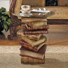 POWER OF BOOKS SIDE TABLE DESIGN TOSCANO tables  power of books table