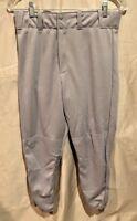 Majestic 8570 Adult Baseball Pants Grey NEW