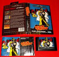 DICK TRACY Sega Mega Drive MegaDrive Versione Europea PAL ○ COMPLETO