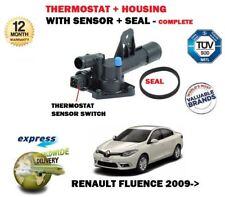 für RENAULT Fluence 1.5 dCi 2010- > NEU Thermostat +Gehäuse +Sensor Kit komplett