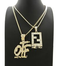 """OTF & FAMILY FIRST PENDANTS WITH 20"""" & 24"""" CHAINS"""