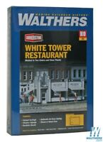 Walthers 933-3030 White Tower Restaurant Kit HO Scale Train