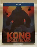 Kong: Skull Island Blu-ray STEELBOOK Nuovo Sigillato