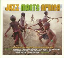 JAZZ MEETS AFRICA - 3 CD BOX SET - THE INNOVATIVE SOUND OF AFRICAN INFUSED JAZZ