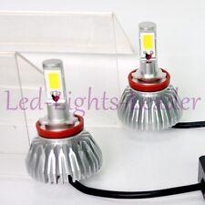 60W H11 6000K LED Headlight 12v Vehicle Car Conversion Bulbs Kit 6000LM White