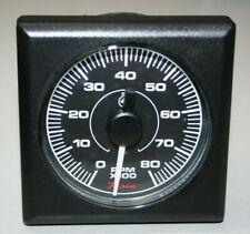 TD9662 Faria Square Bezel Diesel Tachometer 0-4000 RPM