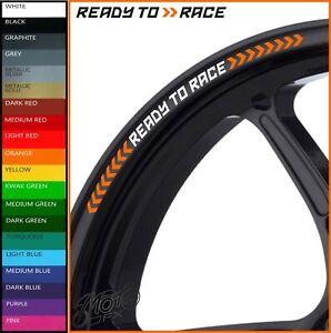 KTM READY TO RACE Wheel Rim Stickers Decals - super duke exc 790 890 1190 1290 r