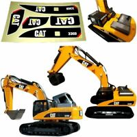 1:14 Sticker Set for Huina 580 1580 Top Race TR-211m 23 Channel Excavator Amewi