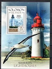 STAMPS - SOLOMON ISLANDS - M/S - LIGHTHOUSES - GREEN CAPE AUSTRALIA - 2013 -