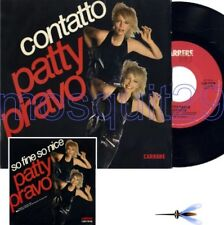 "PATTY PRAVO ""CONTATTO"" RARO 45GIRI STAMPA ITALIANA - MINT"
