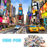 1000 Pieces New York Times Square Jigsaw Puzzles For Adults Kids Education Game