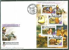 GUINEA  2015 200th ANNIVERSARY OF THE BATTLE OF WATERLOO SHEET  FIRST DAY COVER