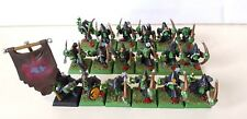 18 x Goblin Grots with Bows well painted models includes part metal Boss