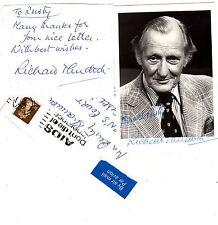 RICHARD Stinker MURDOCH 3-pce MESSAGE + SIGNED PHOTO + Envelope EC