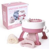 22 Needle Hand Knitting Machine Weaving Loom Craft Kit for Scraf Hat Sweater DIY