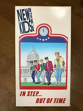 Rare ~ New Kids on the Block - In Step...Out of Time (VHS,1990) Donnie Wahlberg
