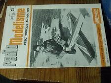 8µ? Revue Radio Modelisme n°31 VCC 1er vol Missile II