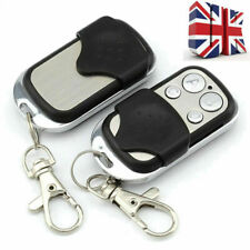 3x Universal Cloning Remote Control Key Fob for Car Garage Door Electric Gate UK
