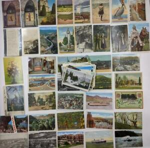 Vintage Lot of 70+ Postcards – USA Travel Destinations National Parks-Early 20th