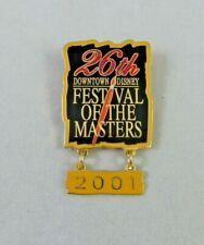 Disney Wdw Pin - Festival of the Masters 26th Annual - 2001 - Paintbrush Dangle