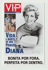 1998 Portugese Pocket Calendar featuring mag cover Lady Princess Diana