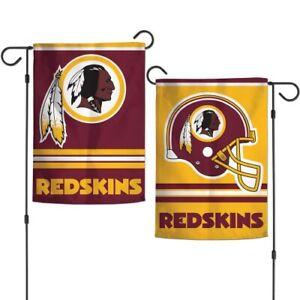 Washington Redskins Garden Flag 2 Sided 12.5 x 18