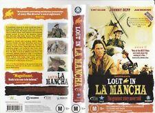 LOST IN LA MANCHA TERRY GILLIAM JOHNNY DEPP JEFF BRIDGES RARE PAL VHS VIDEO