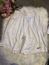 Nike  White Basketball Shorts Size Men's L B15