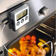 Digital Probe Oven Food Cooking Timer Thermometer For BBQ Grill Meat Kitchen New