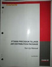 Case - Ih Ptx300 Precision Tillage Air Distribution Package Set-Up Manual Oem