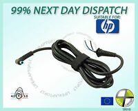 4.5x3.0mm DC Tip Plug connector with Cord Charger Cable for HP