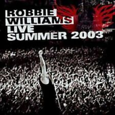 Robbie Williams - Live Summer 2003 [New CD]