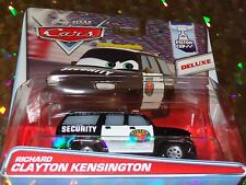 "DISNEY PIXAR CARS""RICHARD CLAYTON KENSINGTON""Die-Cast, Deluxe, BRAND NEW, Mattel"