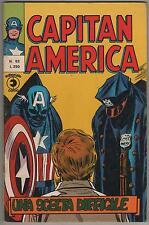CAPITAN AMERICA corno N.52 UNA SCELTA DIFFICILE spider-man x-men l'uomo ragno