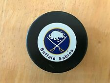 Buffalo Sabres NHL Vintage Inglasco Official Hockey Puck Made in Slovakia