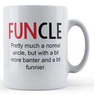 "Uncle, Banter, ""Funcle"" - Gift Mug"