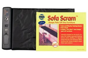 High Tech Pet Sofa Scram Sonic Pad Pet Deterrent