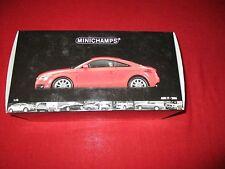 MINICHAMPS® 100 015021 1:18 Audi TT Roadster 2006 rot NEU OVP