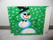 Lot of 250 Cd Video Game Gift Boxes 3Ds Ps1 Dancing Snowman Christmas Holiday