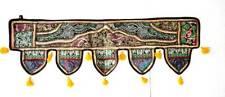 Indian patchwork vintage door hanging handmade embroidered toran door valance